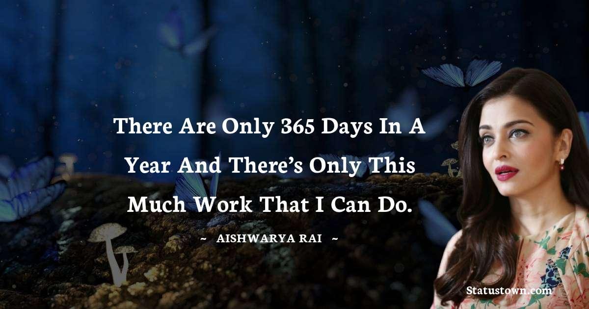 Aishwarya Rai Status