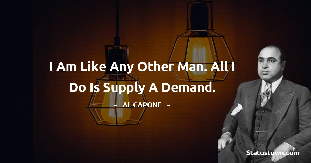 al capone Thoughts