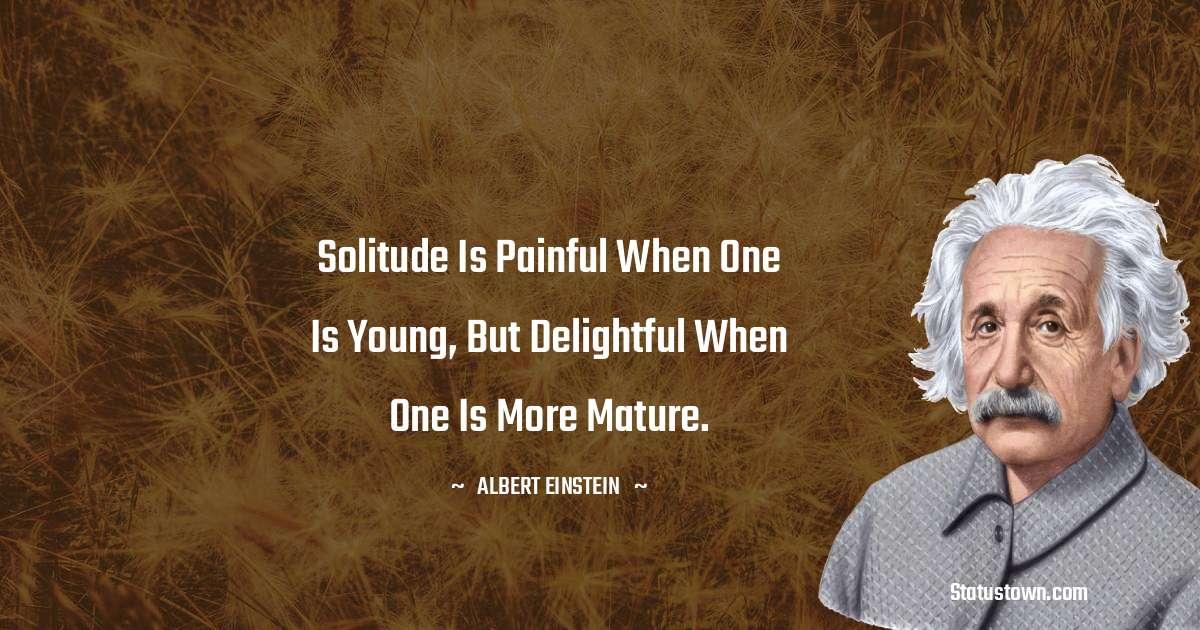 Albert Einstein  Positive Quotes