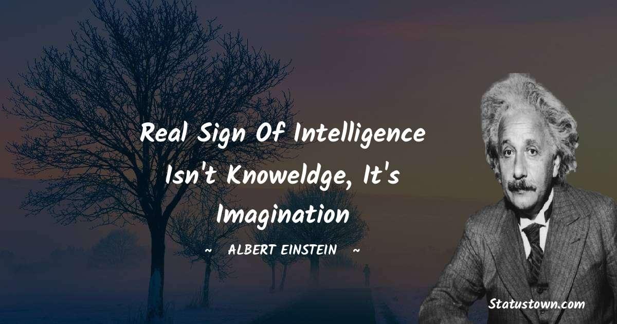 Albert Einstein  Unique Quotes