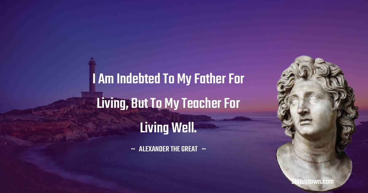 Alexander the Great Status