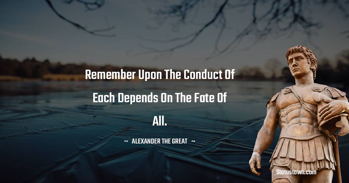 Alexander the Great Quotes images