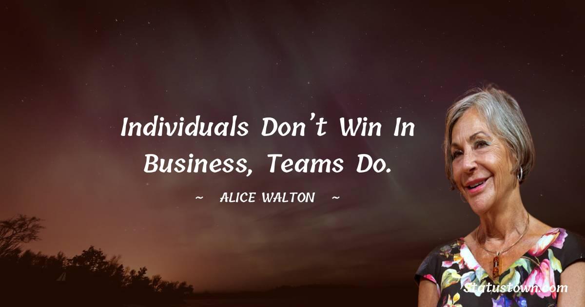 Alice Walton Status