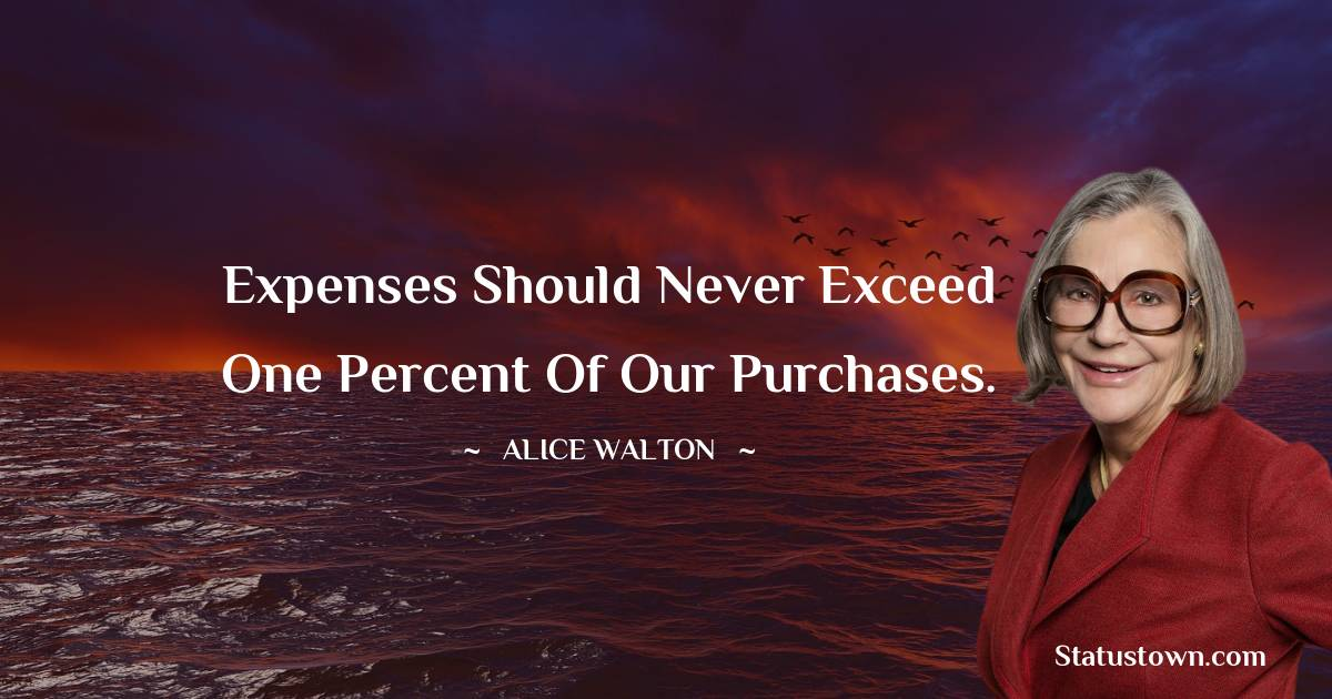 Alice Walton Thoughts