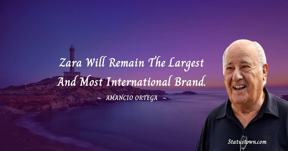Amancio Ortega Positive Quotes