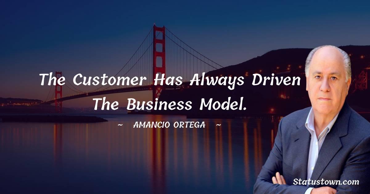 Amancio Ortega Unique Quotes