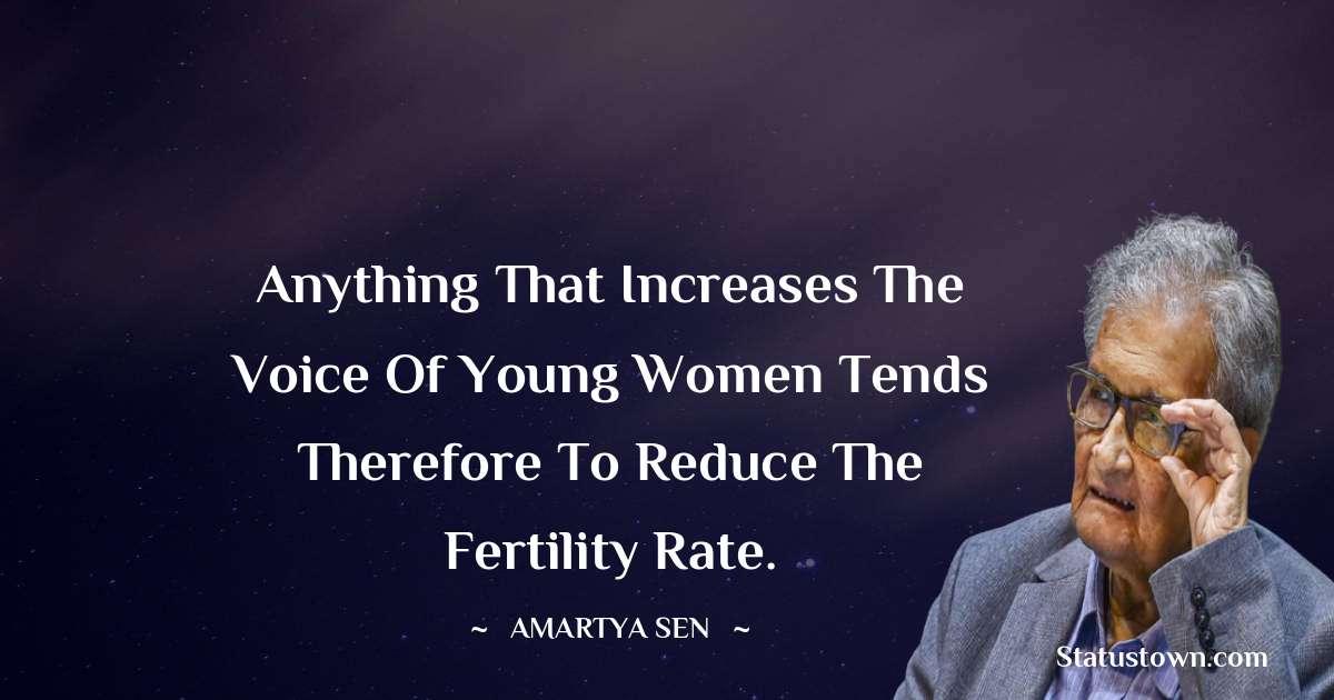 Amartya Sen Quotes on Life