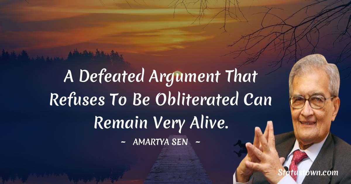 Amartya Sen Quotes for Success