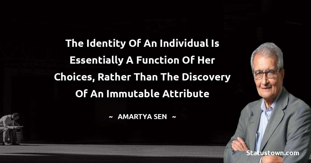Amartya Sen Quotes images