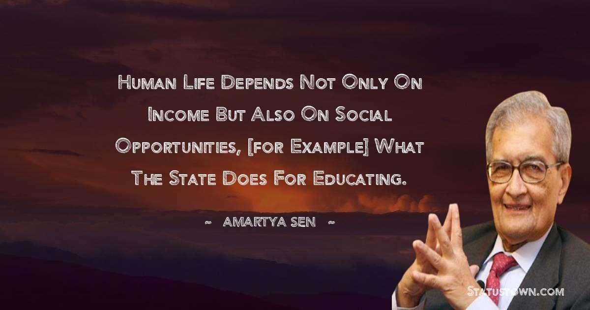 Amartya Sen Quotes on Failure