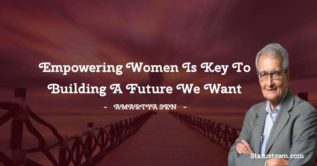 Amartya Sen Inspirational Quotes