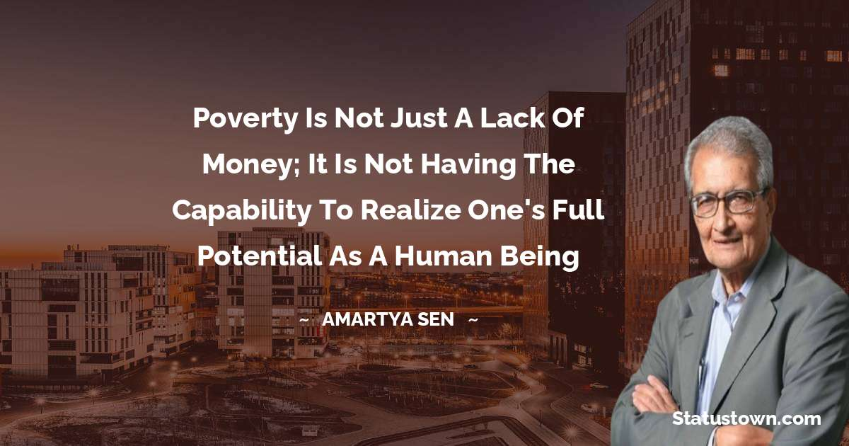 Amartya Sen Quotes