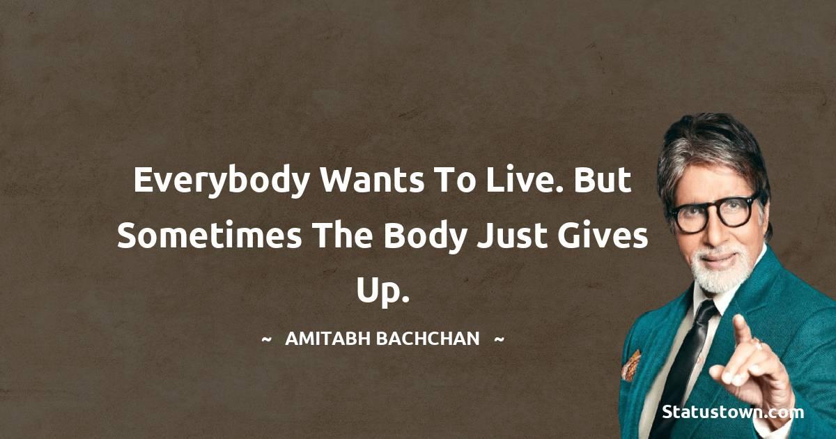 Amitabh Bachchan Positive Thoughts