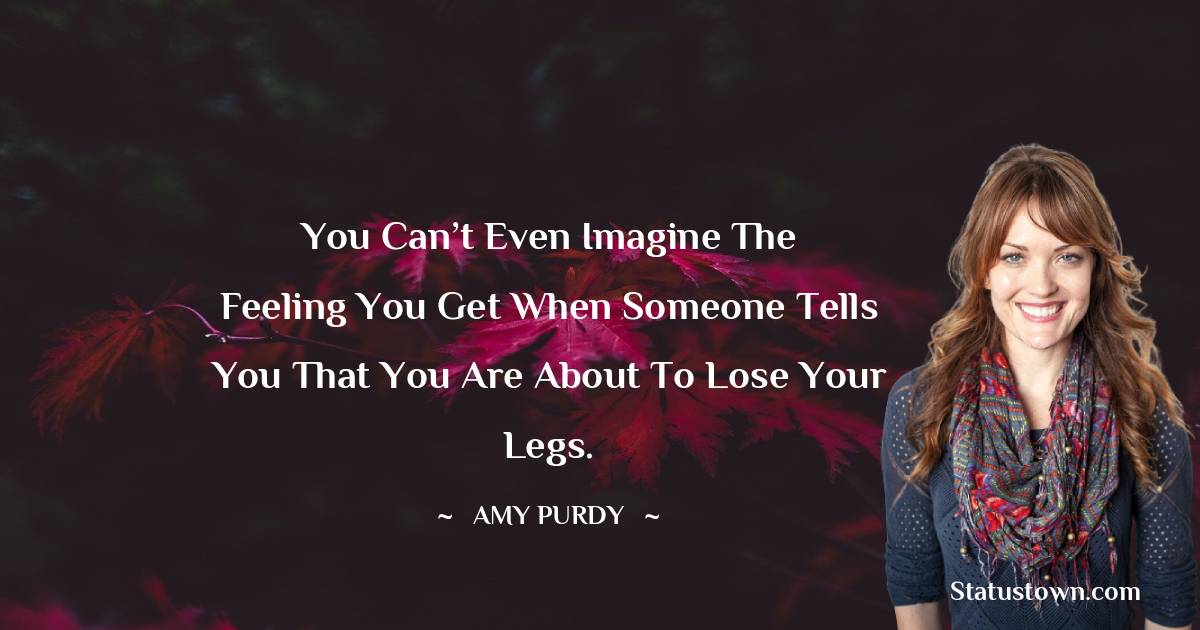 Amy Purdy Positive Thoughts