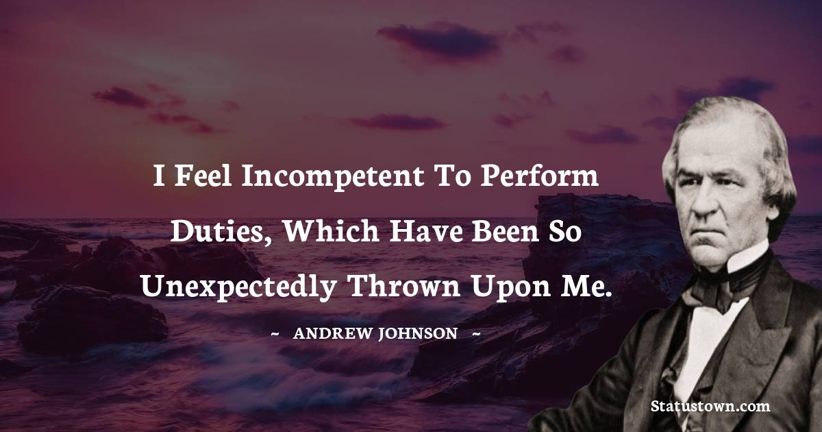 Andrew Johnson Quotes images