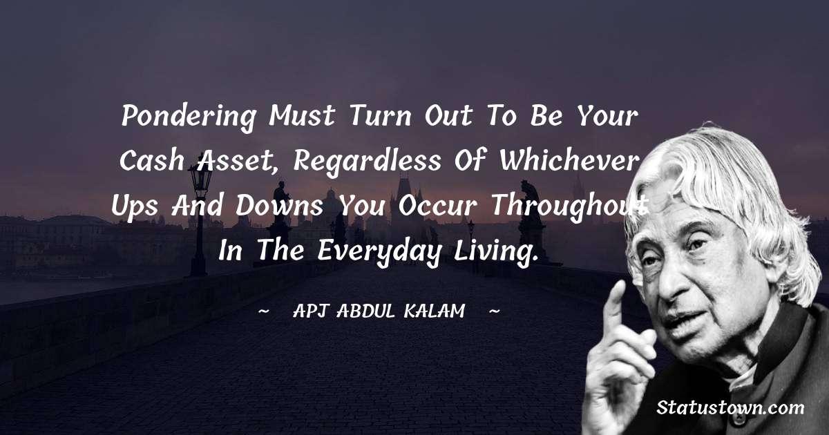 A P J Abdul Kalam Short Quotes