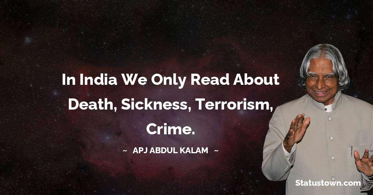 A P J Abdul Kalam Motivational Quotes