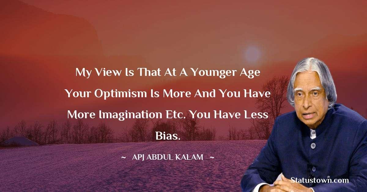 A P J Abdul Kalam Inspirational Quotes