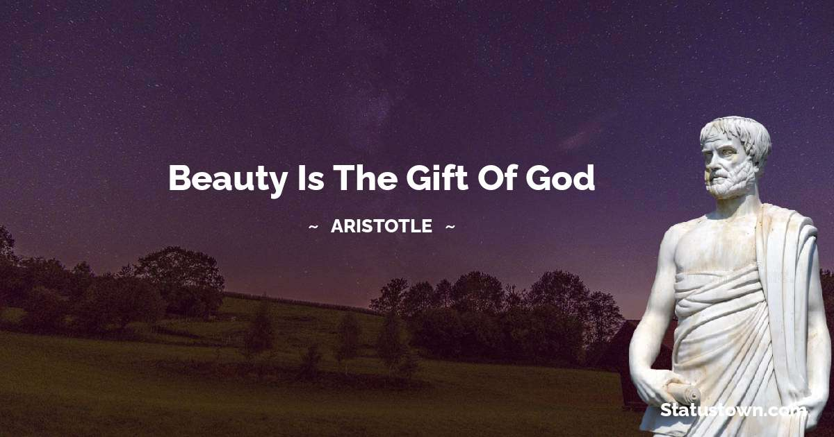 Aristotle   Positive Thoughts