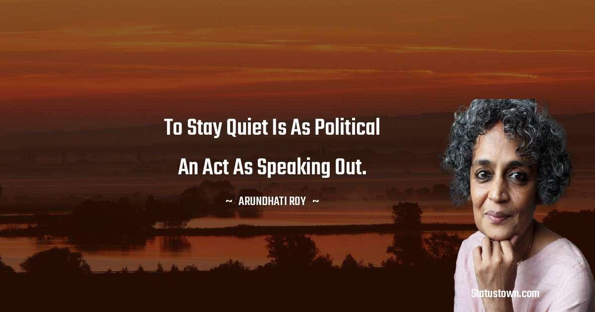 Arundhati Roy quotes pinterest