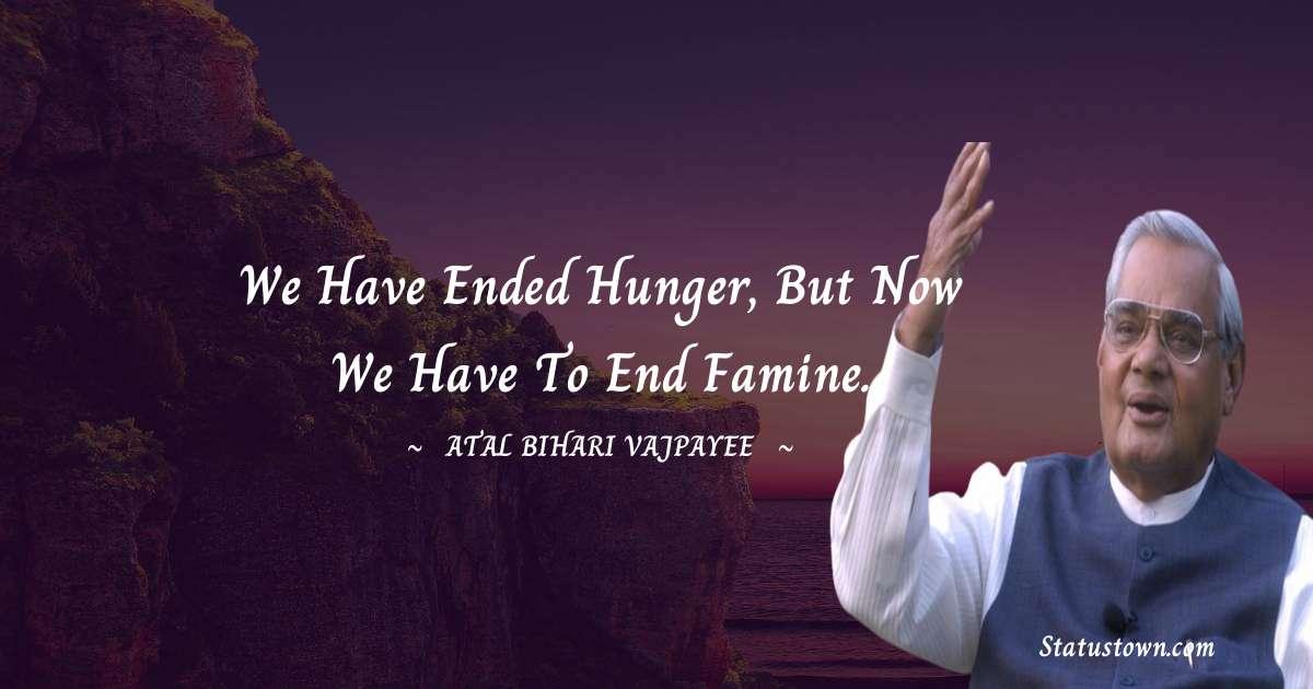 Atal Bihari Vajpayee Short Quotes