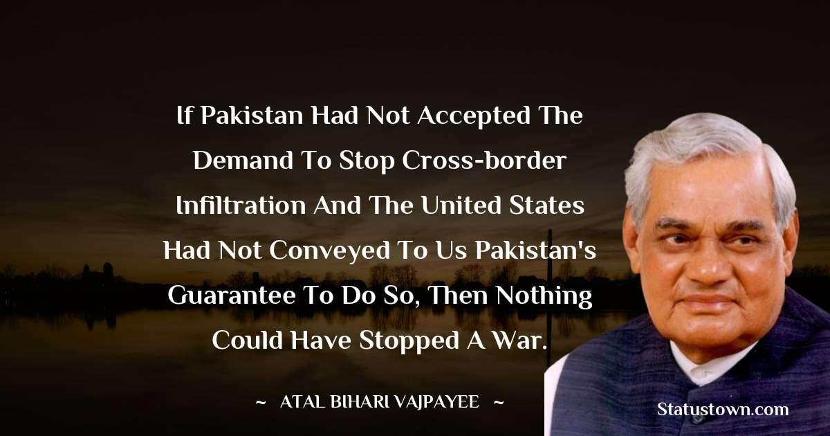 Atal Bihari Vajpayee Unique Quotes