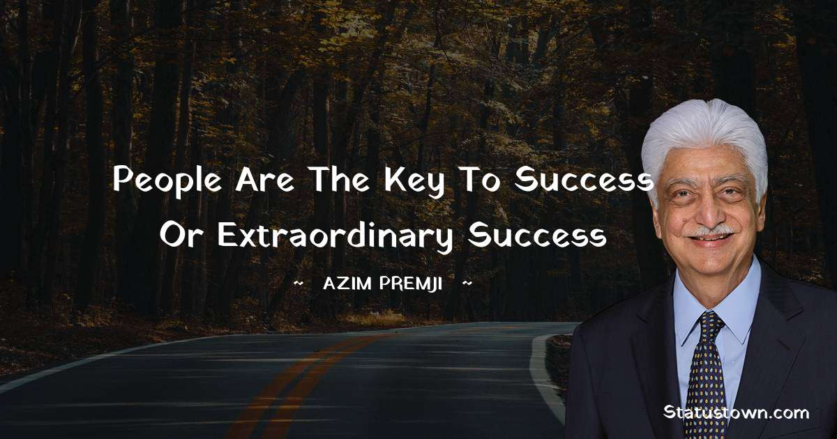 Azim Premji quotes for work