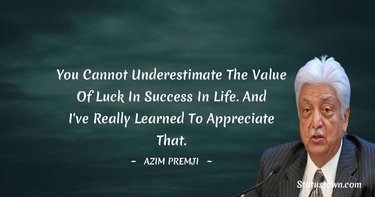 Azim Premji quotes for students