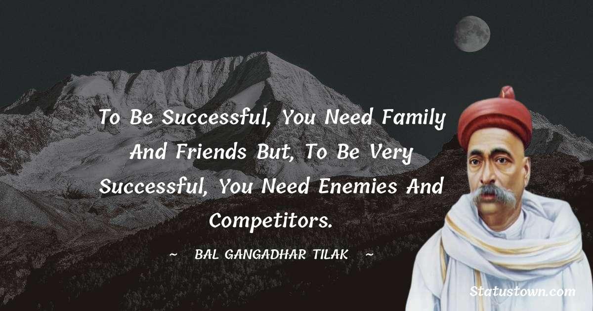 Bal Gangadhar Tilak quotes for work