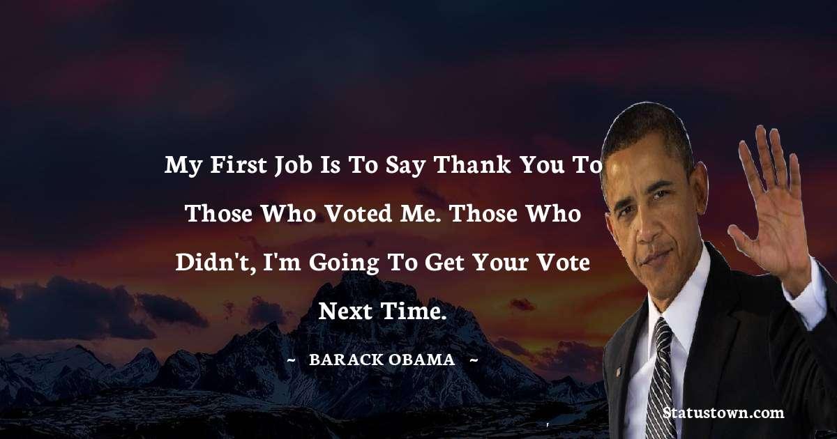 Barack Obama Short Quotes
