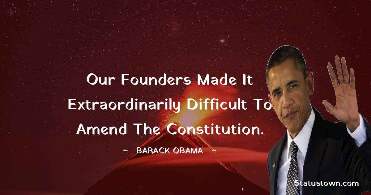 Barack Obama Unique Quotes