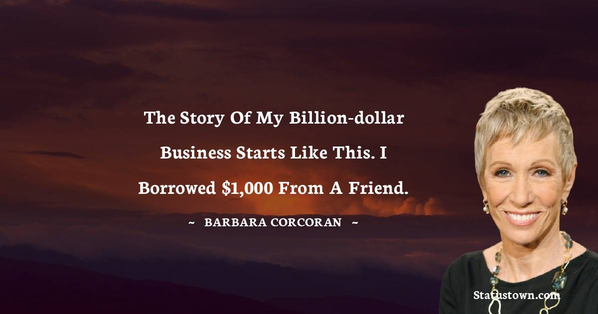 Barbara Corcoran Positive Thoughts