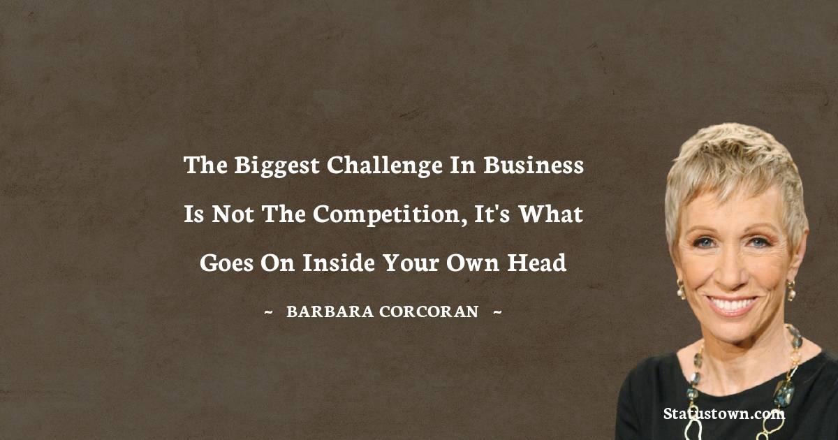 Barbara Corcoran Inspirational Quotes