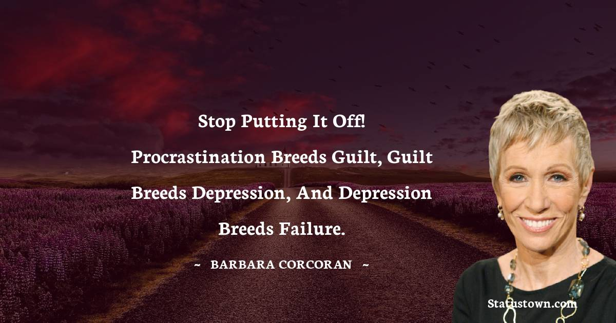 Barbara Corcoran Thoughts