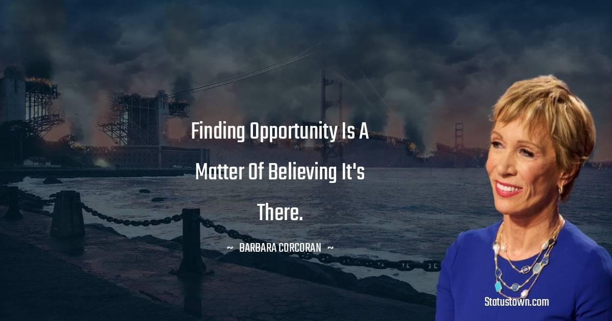 Barbara Corcoran Unique Quotes