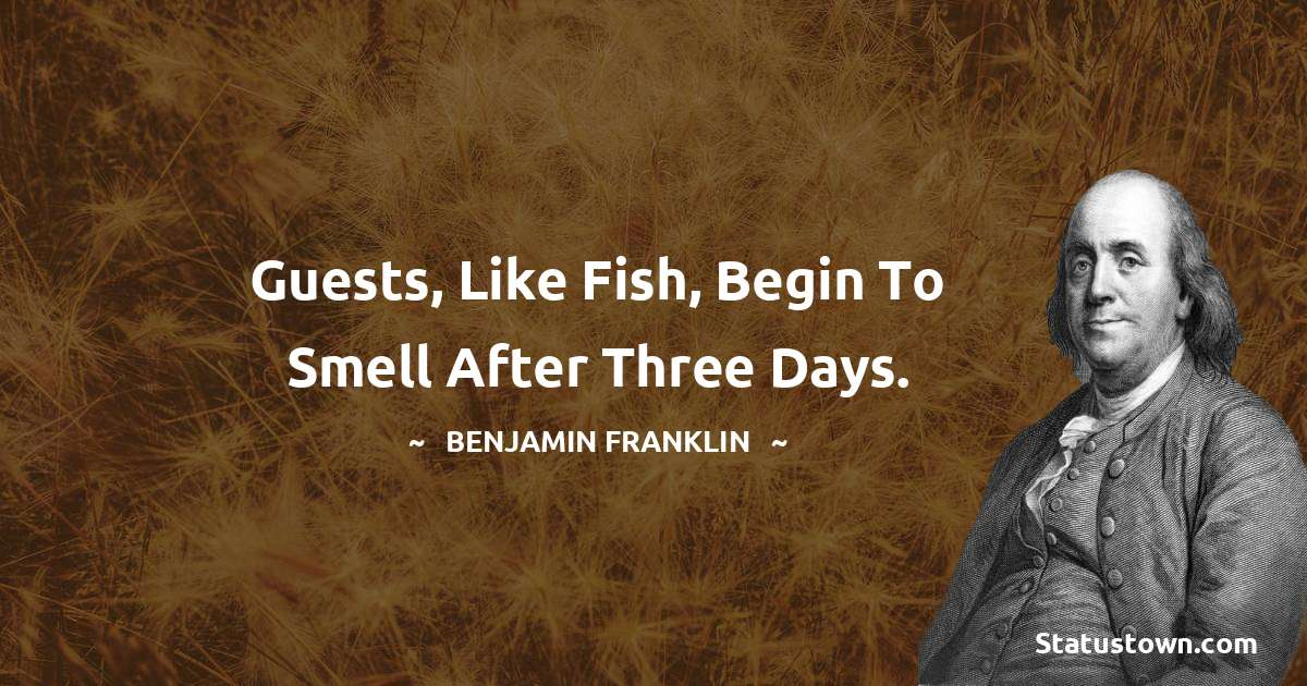 Benjamin Franklin Quotes images