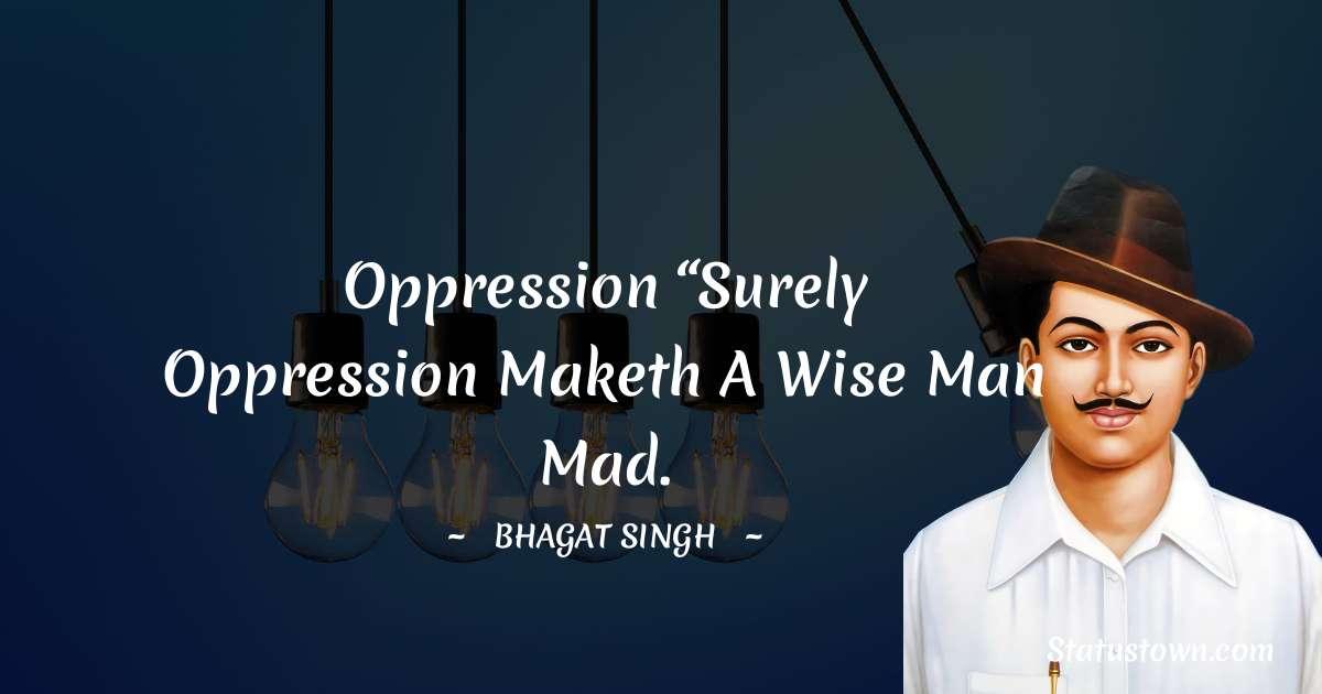 Bhagat Singh Status
