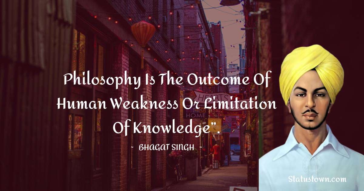 Bhagat Singh Short Quotes
