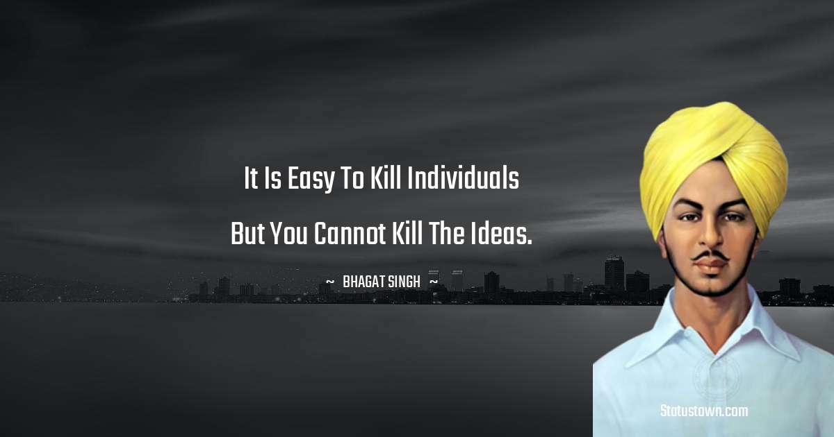 Bhagat Singh Positive Quotes