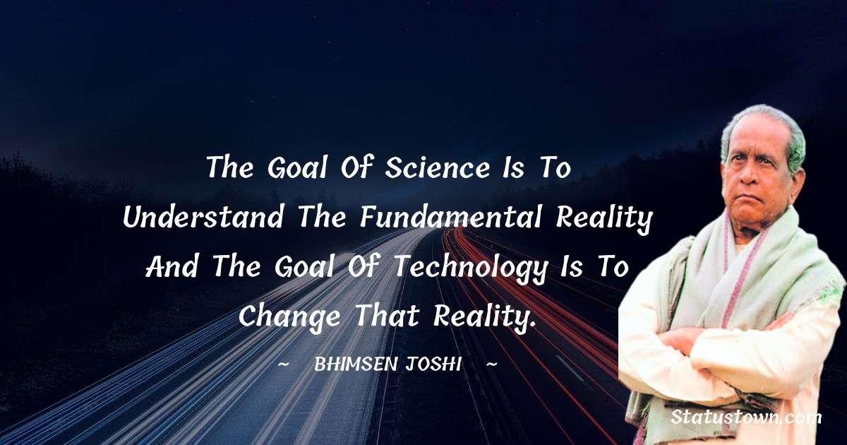 Bhimsen Joshi Quotes images