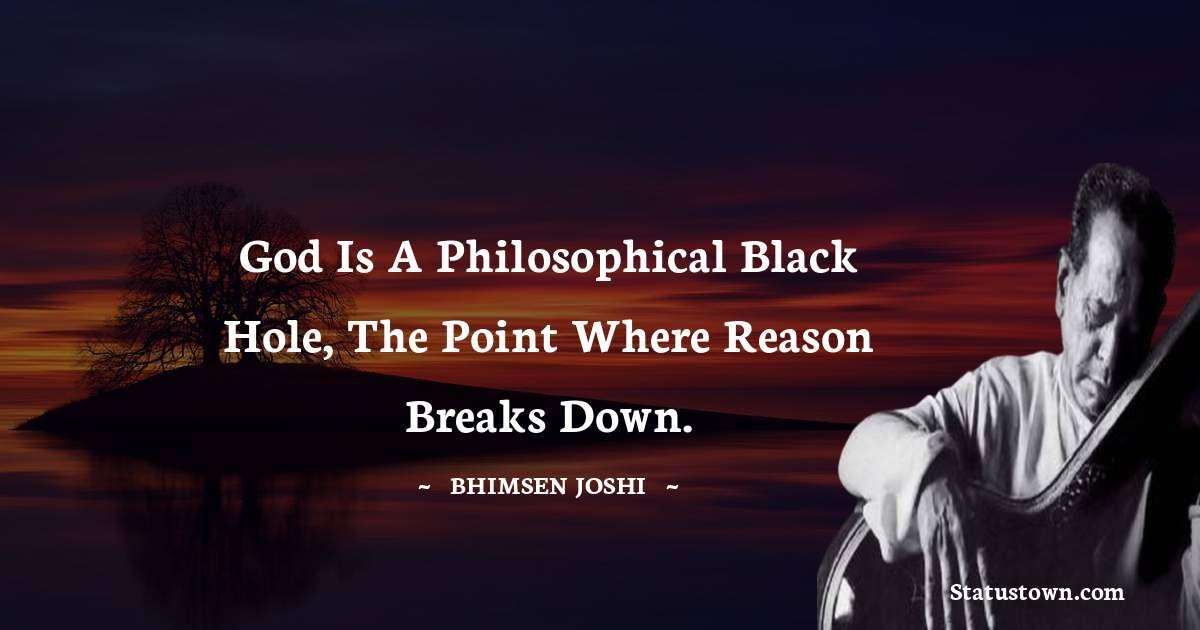 Bhimsen Joshi Thoughts