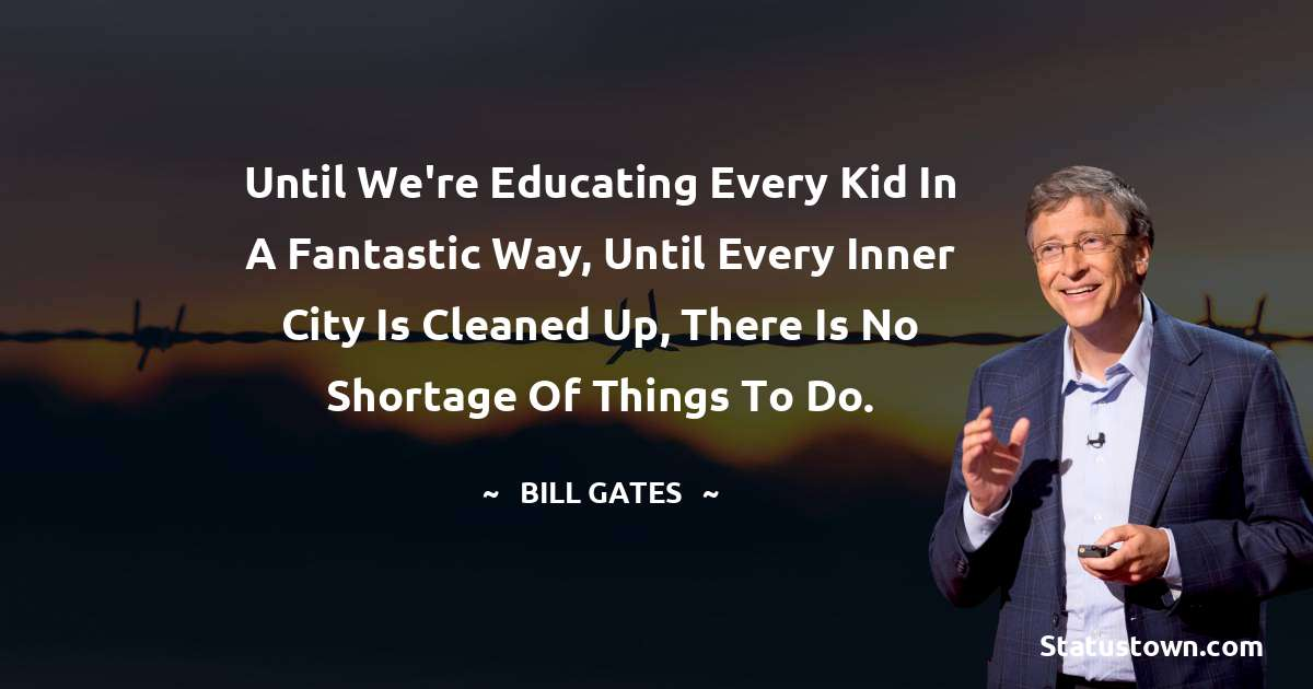 Bill Gates Status