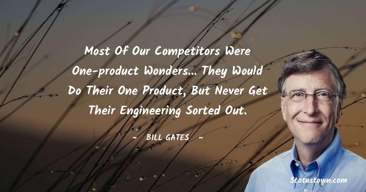 Bill Gates Short Quotes