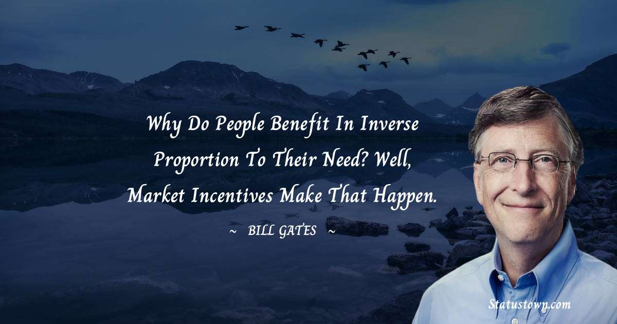 Bill Gates Positive Quotes