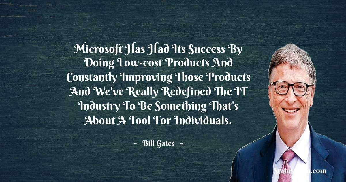 Bill Gates Unique Quotes