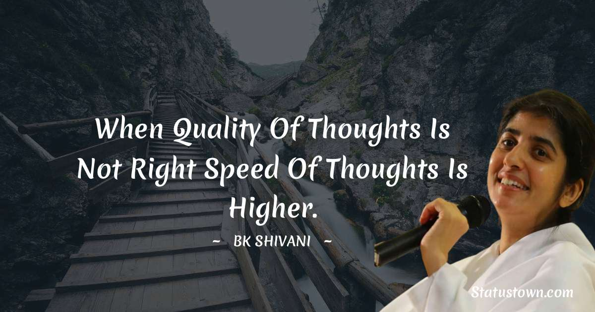 Brahmakumari Shivani  Positive Quotes