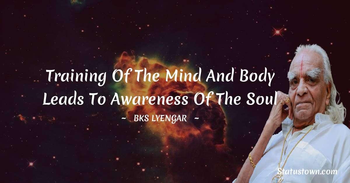 B.K.S. Iyengar Quotes images