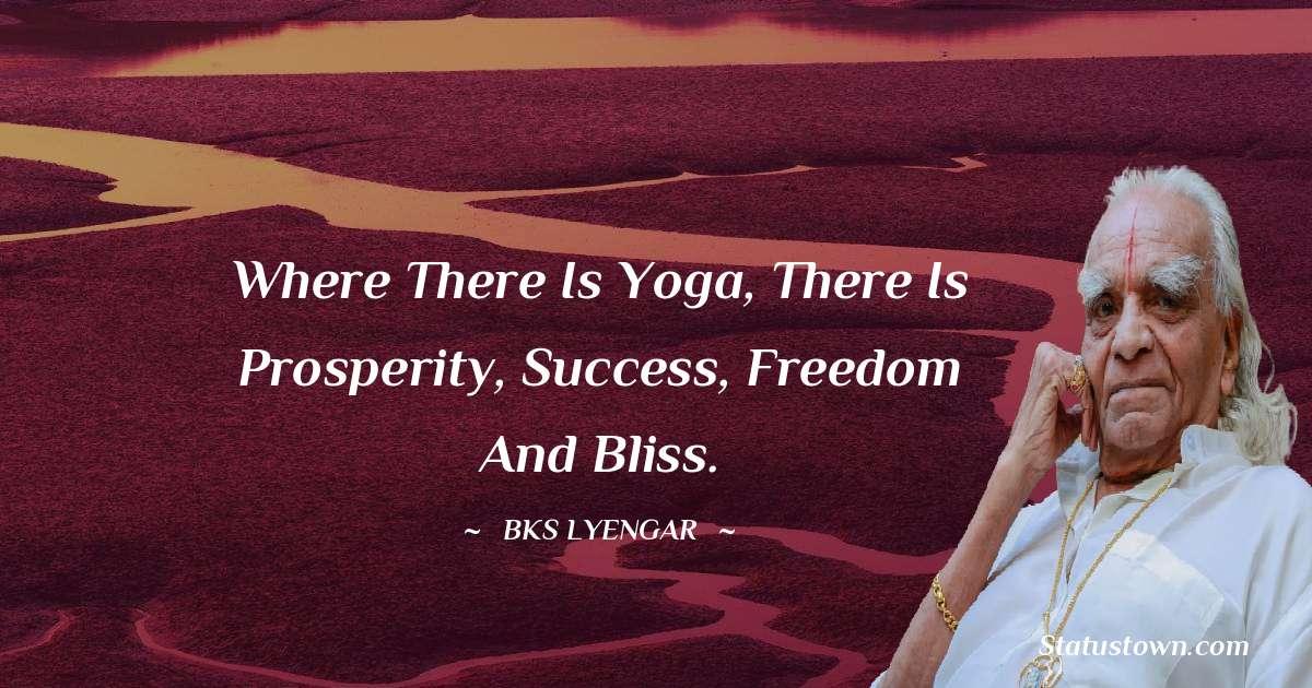 B.K.S. Iyengar Quotes