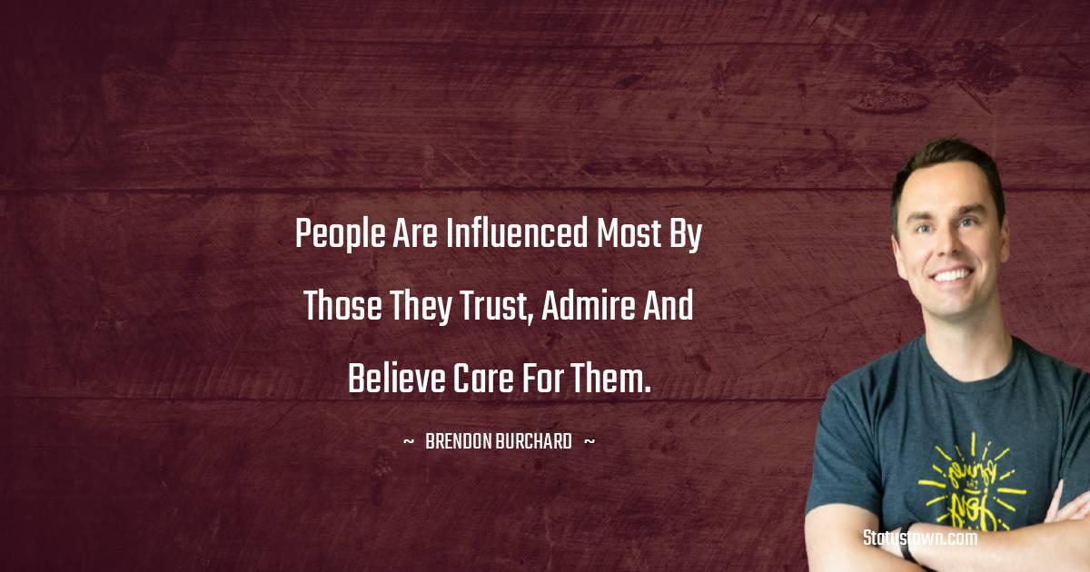 Brendon Burchard Status