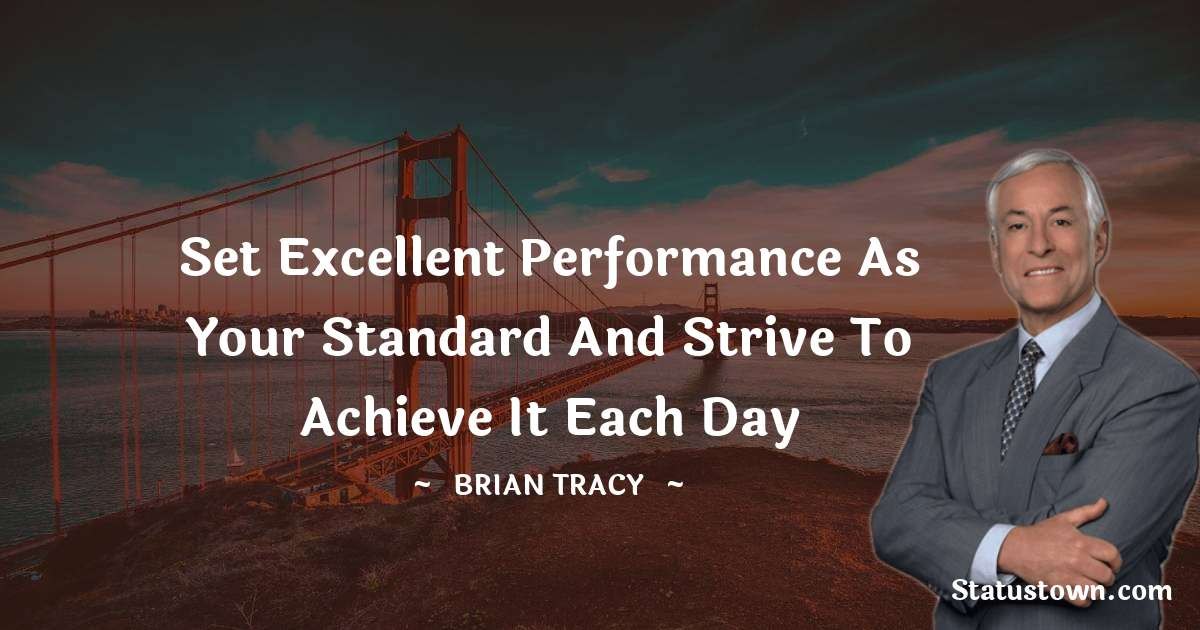 Brian Tracy Status